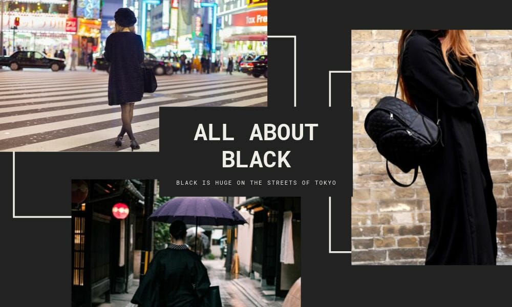 black outfits of Tokyo