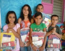 School supplies for Cala Luna, Costa Rica