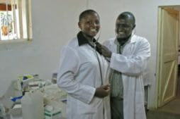 Stethoscopes delivered to Kenya