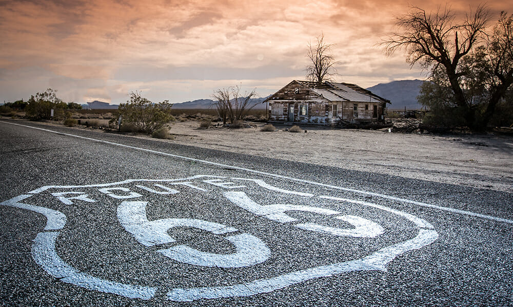 Route 66 vacation