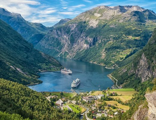 Summer Cruise to Fjords Norway