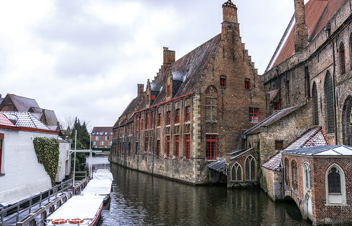 Burges waterways, Belgium