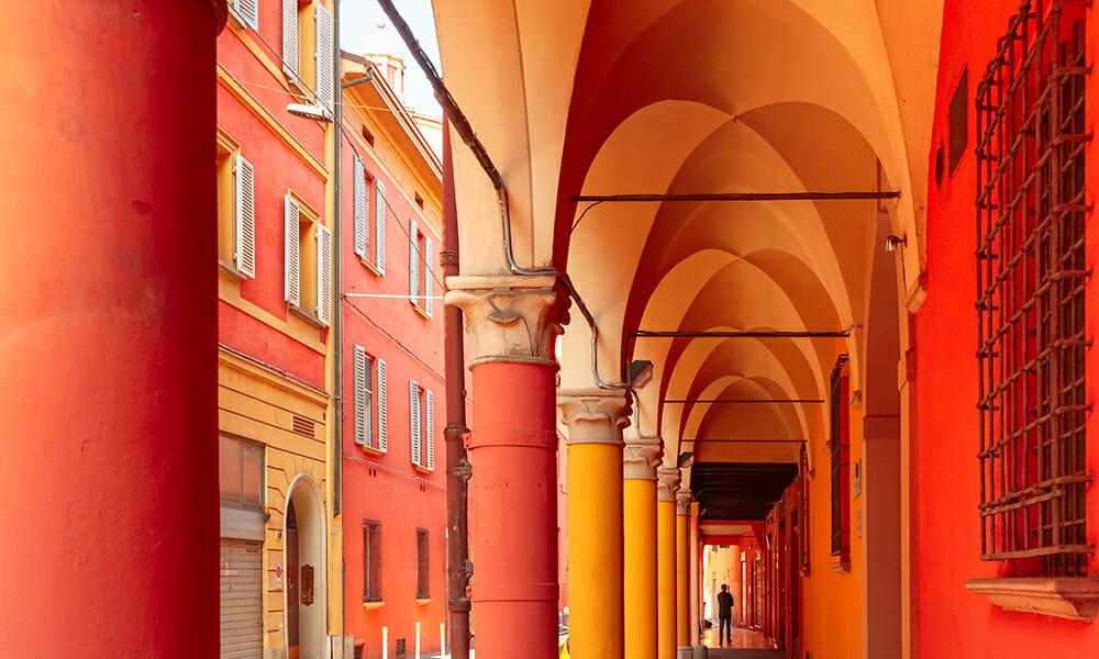 Bologna, Italy, In Springtime