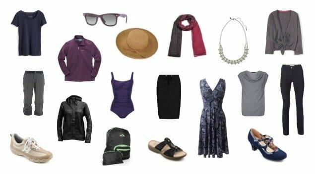 cruise capsule wardrobe for women