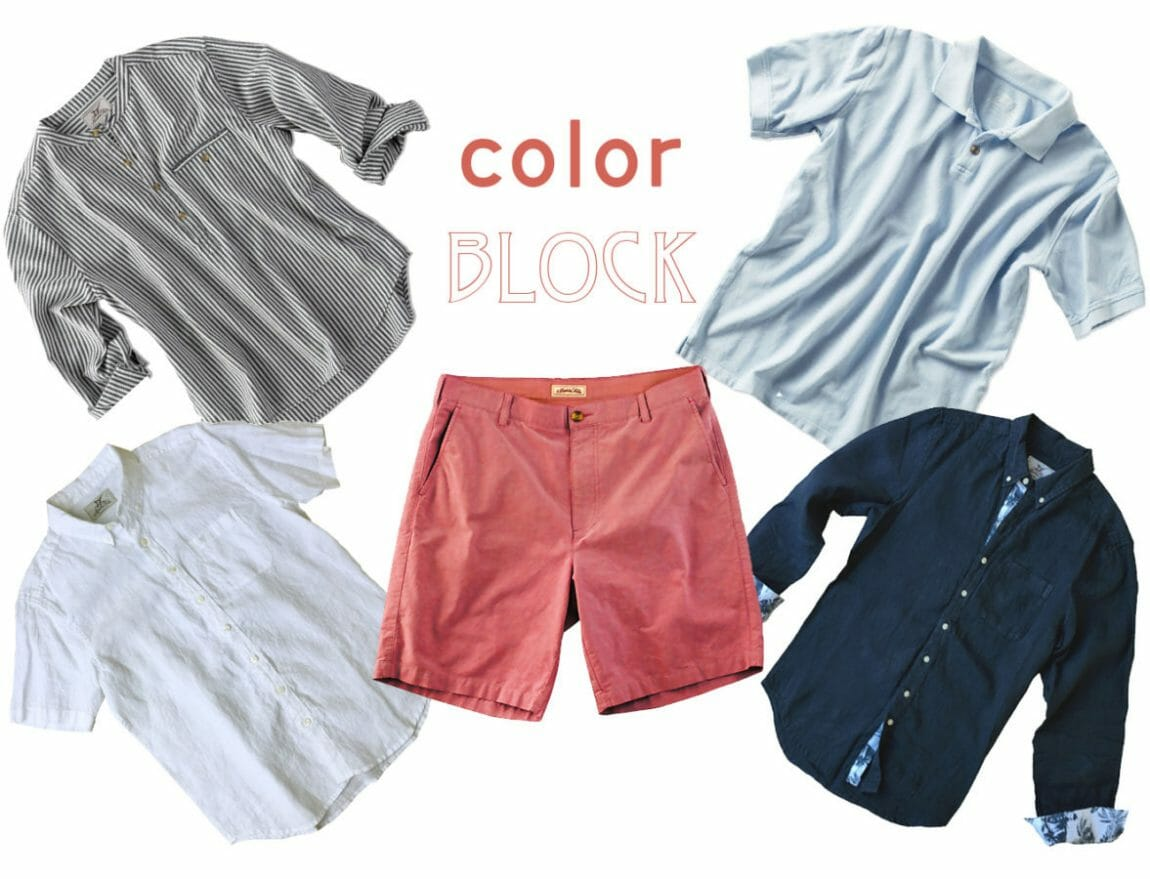 How to color block for men styling tips