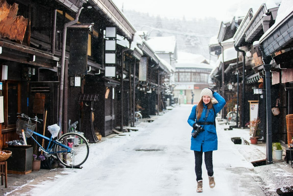 What to wear in Japan in winter