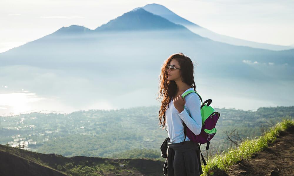 What to wear in Bali when trekking Mount Batur