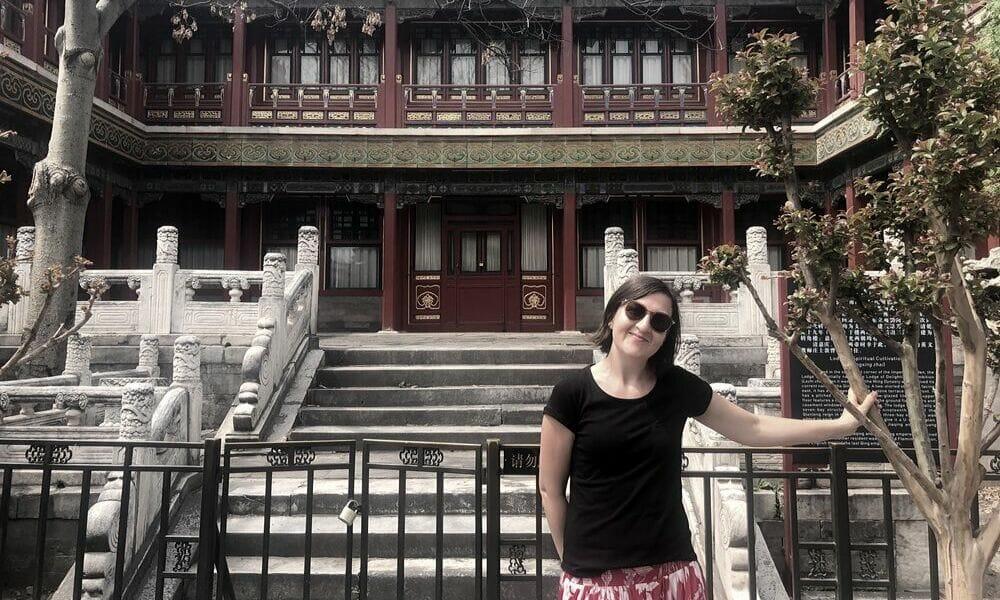 Exploring the Imperial Garden, Forbidden City, Beijing (Spring)