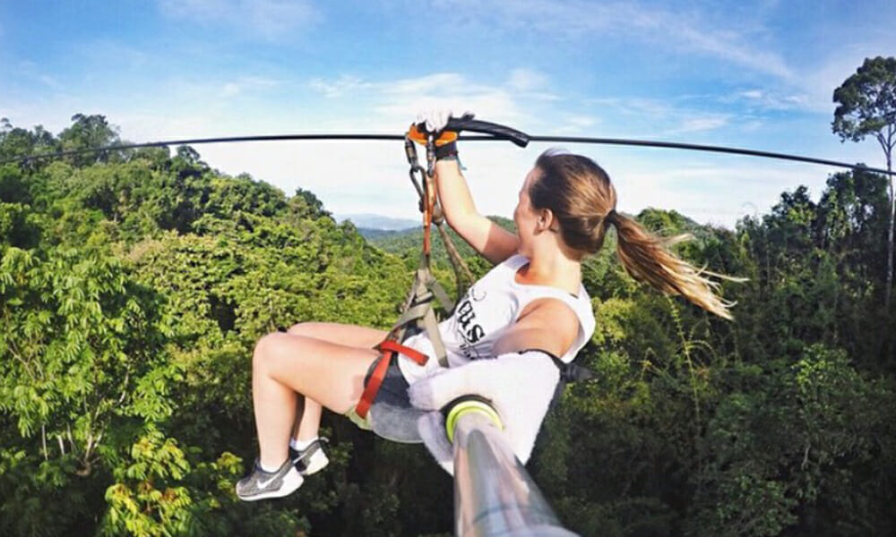 Best ziplines in the world: Treetop experience Laos