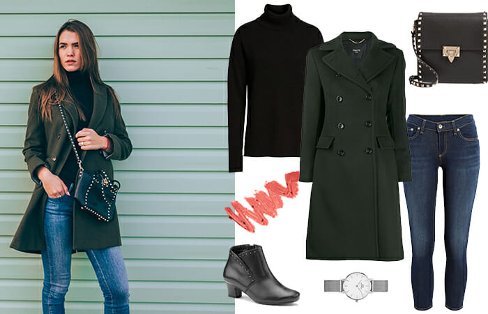 Smart casual ankle boot outfit