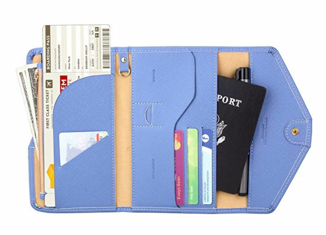 RFID Passport Travel Wallet