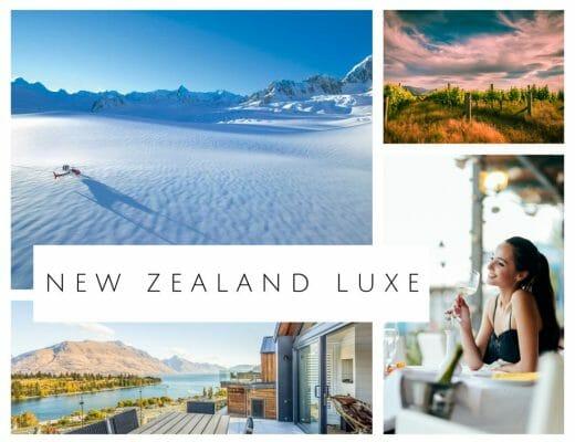 Planning New Zealand luxury vacation