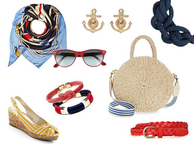 Nautical fashion accessories