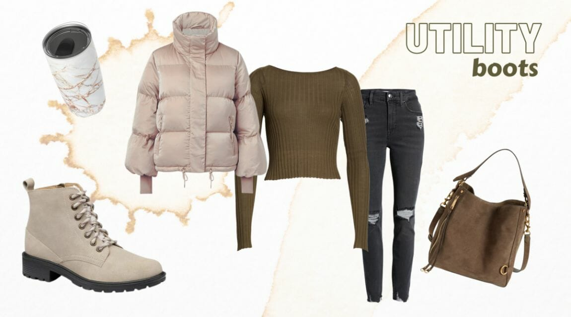 Utility Combat Boots Outfit