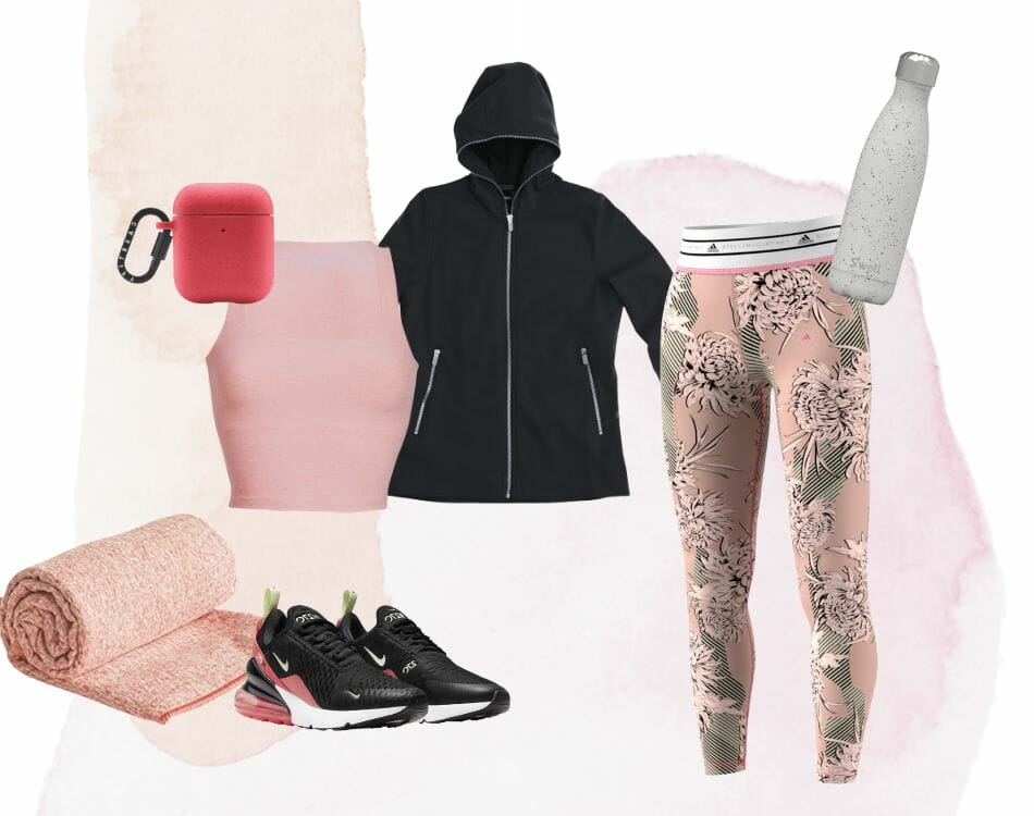 Activewear outfit SCOTTeVEST