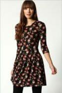 Knitted tunic dress