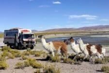 Driving through Peru