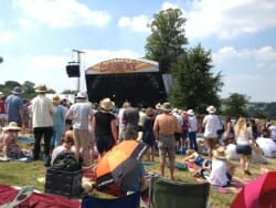 Cornbury Music Festival stage