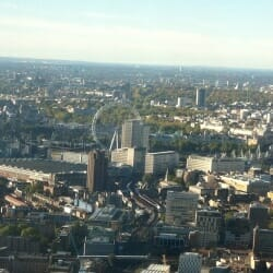 The London Eye - seen from The Shard