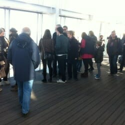 Viewing platform at The Shard