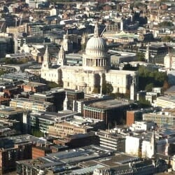 St Paul's Cathedral - seen from The Shard