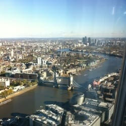 Tower Bridge - seen from The Shard