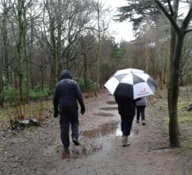 Walking boots required - Coombe Abbey Park
