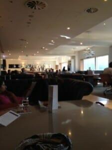 No.1 Airport Lounge at Heathrow