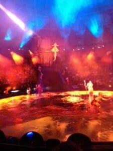 Le Reve show in Las Vegas