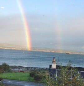 Rainbows over the Firth