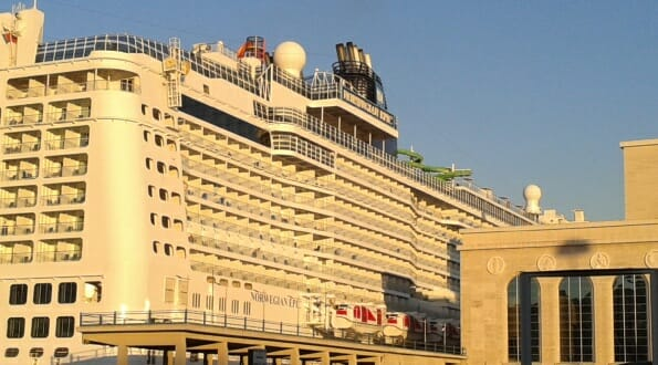 Norwegian Epic - All outside staterooms have balconies