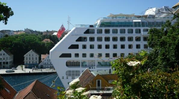 P&O's Oceana in Stavanger, Norway