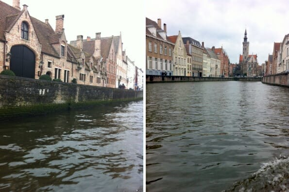 The Bruges waterways