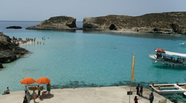 Photo we took at the Blue Lagoon