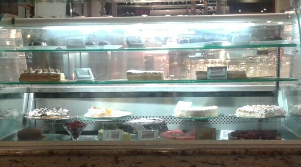 Cakes in Cara's Cafe