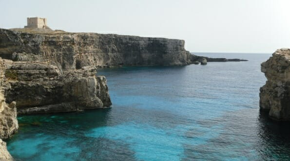 Stunning views on Comino