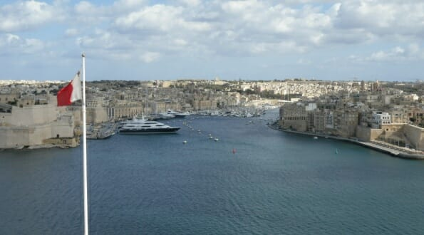 Malta - the Three Cities from Valletta