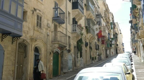 Back streets of Valletta