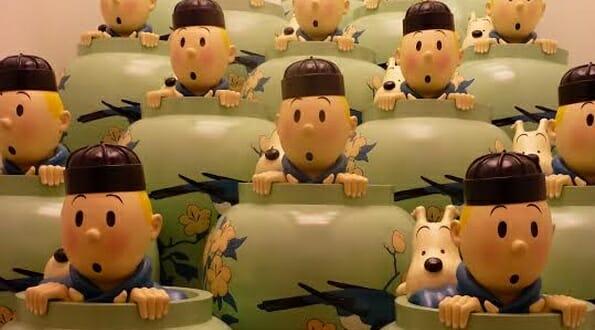 Tintin souvenirs
