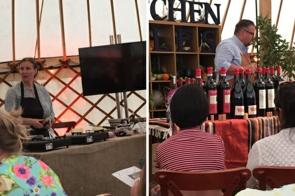 Food and drink demos