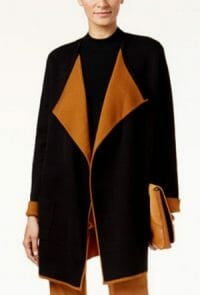 Alfani Colorblocked Open-Front Cargidan by Macy's