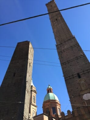 Bologna towers - no lifts!