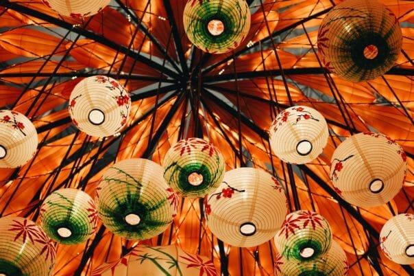 Vietnam lanterns
