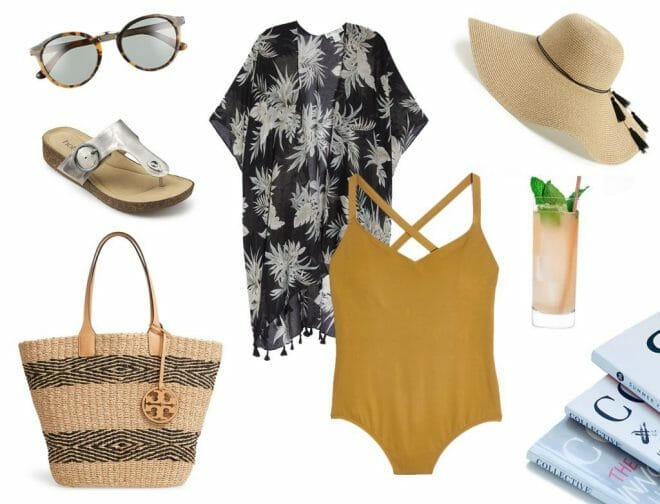 Resort looks of 2019, relaxed poolside look